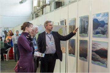 """Представители """"Заповедников Таймыра"""" представили туристический потенциал полуострова на выставке """"Енисей"""""""