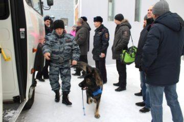 Норильские полицейские отправились в служебную командировку на Северный Кавказ