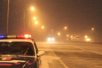 Установлена личность норильского водителя, совершившего наезд на пешехода, прогуливавшегося ранним утром посередине автодороги