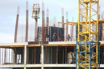 Началось возведение шестого этажа здания перинатального центра в Норильске