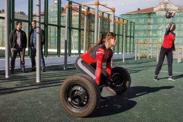 Новые спортплощадки открыли на норильском стадионе