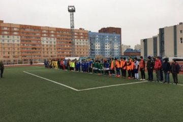 12 юношеских команд объединило первенство Норильска по футболу