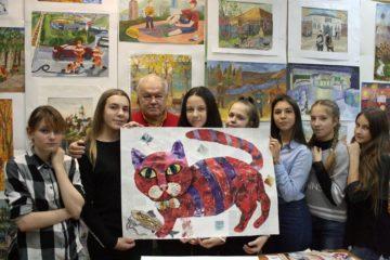 """""""Норникель"""" помог обучить норильских и таймырских художников искусству коллажа"""