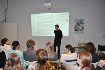 Журналист и писатель Александр Мурашев провел мастер-класс в Норильске
