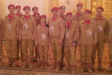 """Норильские школьники приняли участие в первом молодежном патриотическом форуме """"Я – Юнармия!"""""""