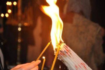 Частичку Благодатного огня доставят в Красноярск из Иерусалима