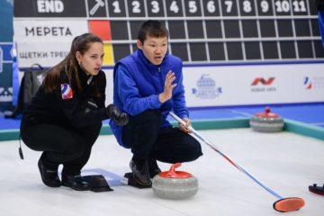 Сейчас на арене «Таймыра» играют финал детского турнира Arctic Curling Cup 2018