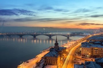 Красноярск вошел в топ-10 рейтинга качества городской среды