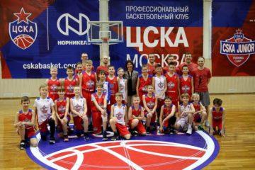 Вице-президент «Норникеля» Елена Безденежных оценила баскетбольный кэмп CSKA JuNior