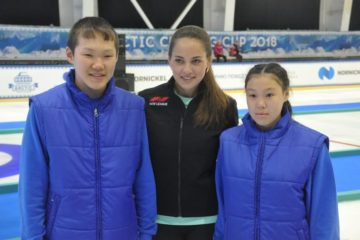 """Анастасия Брызгалова: """"Научиться хорошо играть в керлинг можно в любом возрасте"""""""