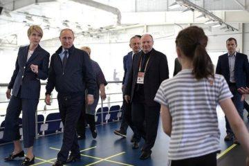 """""""Норникель"""" помог открыть в Сочи новый хоккейный тренировочный центр для детей"""
