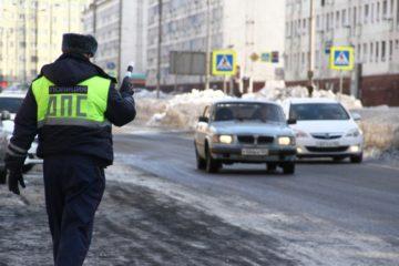 """Норильские полицейские проводят рейд """"Нетрезвый водитель"""""""