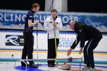 Во второй игровой день Arctic Curling Cup россияне показали высокий уровень
