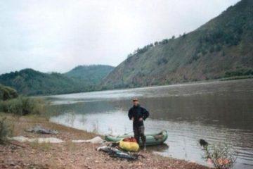 Рязанский путешественник на лодке добрался до озера Пясино