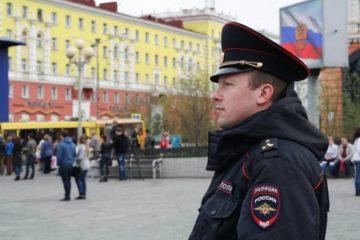 Количество преступлений в общественных местах и на улицах Норильска за пять месяцев снизилось на 12,5 процента