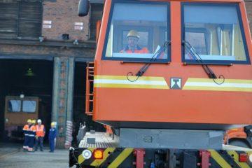 Двумя новыми дрезинами пополнился парк Предприятия технологического железнодорожного транспорта