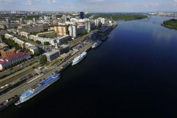 В Красноярском крае рассматривают возможность строительства на Енисее нового порта