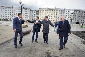 Парк на Комсомольской улице появится в срок