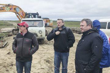В Тухарде строят новые дома
