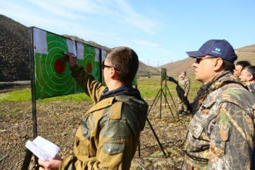 Сотрудники норильской администрации соревновались в стрельбе