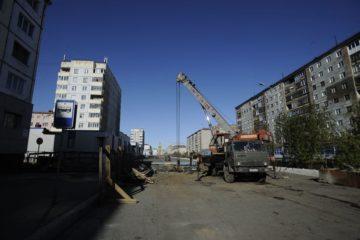 Ремонт коллектора на Талнахской, 43, завершается, начинаются работы на теплосетях на улице Ленинградской