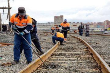 На Норильской железной дороге идут текущие и капитальные ремонты