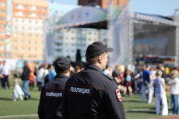 70 полицейских и 38 сотрудников охранных организаций будут обеспечивать охрану общественного порядка в День знаний