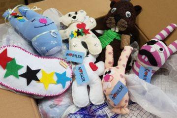 В Норильске собрано более полутора сотен подарков, которые будут вручены гостям зимних Студенческих игр