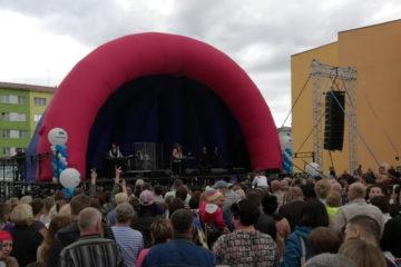 Праздничные мероприятия, посвященные Дню шахтера, продолжила концертная программа