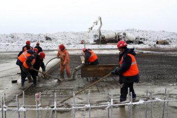 В Норильске идет строительство полигона для размещения отходов
