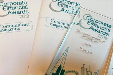 """Сайт """"Норникеля"""" получил награду на международном конкурсе в области корпоративных и финансовых коммуникаций"""