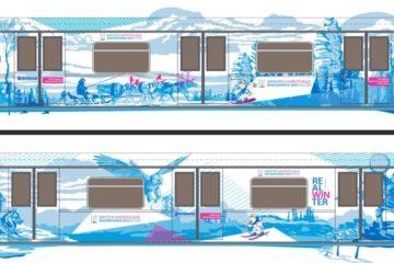 В Московском метрополитене появится тематический поезд, посвященный зимней Универсиаде – 2019