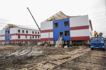 Новый интернат в таймырском поселке Носок сможет принять воспитанников к концу года