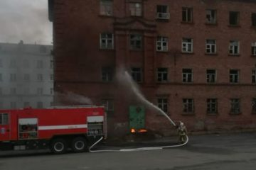 В таймырском поселке Усть-Порт появилась добровольная пожарная команда