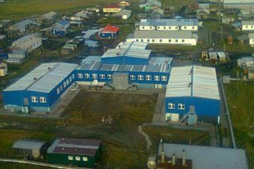 В таймырском поселке Носок завершается строительство интерната на 250 мест