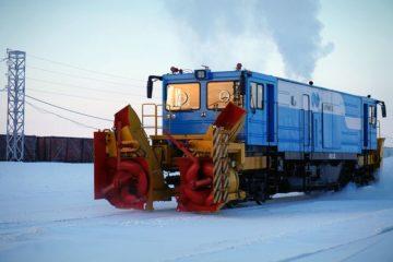 Парк спецтехники Предприятия технологического железнодорожного транспорта пополнился новым снегоочистителем