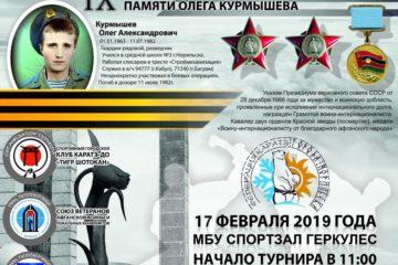 В Норильске пройдет IX Традиционный турнир по карате памяти Олега Курмышева