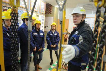 Студентам Норильского политехнического колледжа дали урок безопасности на производстве