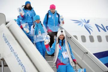Норильские волонтеры зимней Универсиады – 2019 вернулись домой