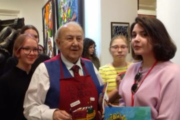Воспитанники Норильской детской художественной школы приняли участие в мастер-классе Зураба Церетели