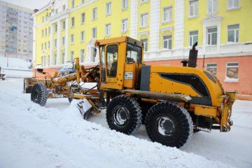 Норильчан просят с пониманием относиться к тому, что снегоуборочная техника шумит по ночам