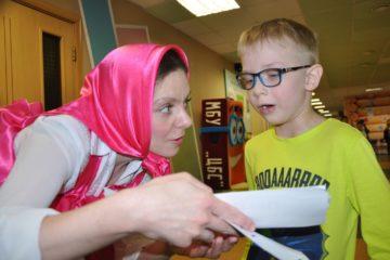 На выходных в Детской библиотеке имени Саши Петряева стартовал интеллектуальный забег «Бегущая книга»
