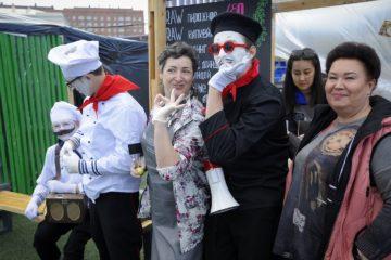 В Норильске продолжается фестиваль уличной еды и гастрономической культуры