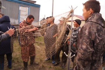 Победитель конкурса «Рыбаки Таймыра» поймал 12-килограммовую рыбу