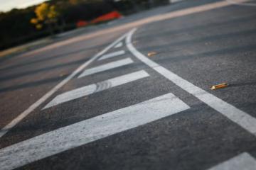 В Норильске завершают разметку автодорог