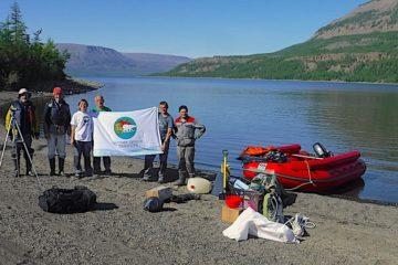 На заповедном озере плато Путорана провели грандиозную уборку