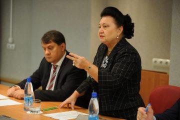 В Норильск прилетела депутат Госдумы Раиса Кармазина