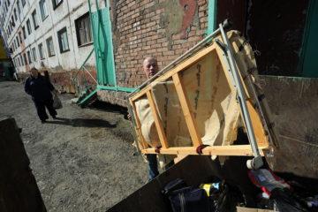 С начала года из Норильска вывезли больше 30 тысяч кубометров мусора