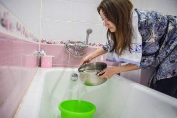 В Оганере отключат воду
