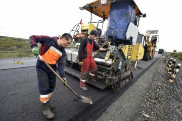 Замена асфальта на трассе Норильск – Талнах полностью завершена
